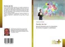Buchcover von Paroles de Vie