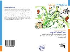 Buchcover von Ingrid Schaffner