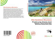 Bookcover of Elbe Sandstone Mountains