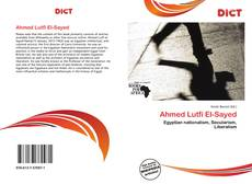 Bookcover of Ahmed Lutfi El-Sayed