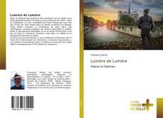 Bookcover of Lumière de Lumière