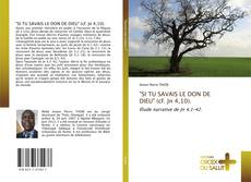 """Bookcover of """"SI TU SAVAIS LE DON DE DIEU"""" (cf. Jn 4,10)."""