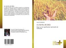 Bookcover of A L'AUTEL DE DIEU