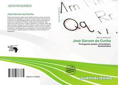 Capa do livro de José Gerson da Cunha