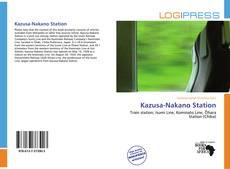 Portada del libro de Kazusa-Nakano Station