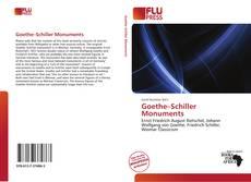 Buchcover von Goethe–Schiller Monuments