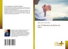 Buchcover von Les 22 Manières du Parler de Dieu