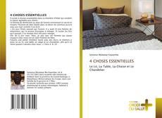 4 CHOSES ESSENTIELLES的封面