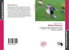 Marko Rehmer的封面