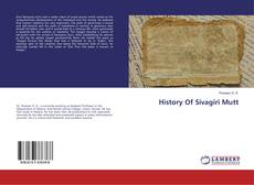 Bookcover of History Of Sivagiri Mutt