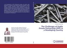 Bookcover of The Challenges of Public Private Partnership (PPP) in a Developing Country