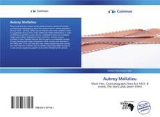 Aubrey Mallalieu kitap kapağı