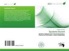 Buchcover von Système Ouvert