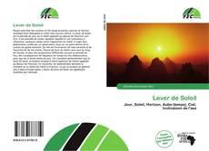 Bookcover of Lever de Soleil