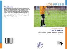 Bookcover of Klaus Sammer