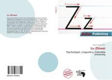 Lu Zhiwei kitap kapağı