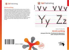 Buchcover von Archi-writing