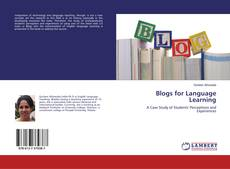 Buchcover von Blogs for Language Learning