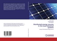 Buchcover von Distributed energy sources in the local electrical systems