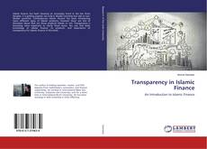 Couverture de Transparency in Islamic Finance