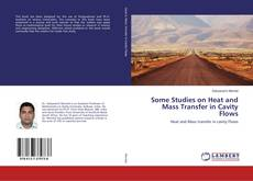 Copertina di Some Studies on Heat and Mass Transfer in Cavity Flows