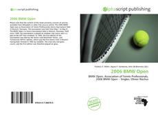 2006 BMW Open的封面