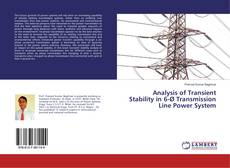 Bookcover of Analysis of Transient Stability in 6-Ø Transmission Line Power System