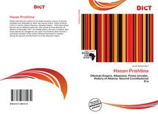 Bookcover of Hasan Prishtina