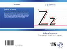 Majang Language kitap kapağı