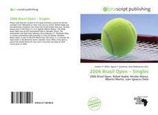 2006 Brasil Open – Singles kitap kapağı