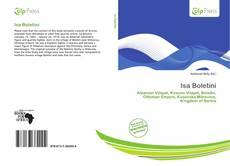 Capa do livro de Isa Boletini