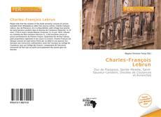 Capa do livro de Charles-François Lebrun