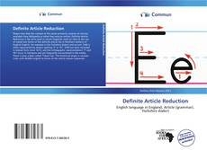 Bookcover of Definite Article Reduction