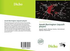 Bookcover of Jonah Barrington (squash player)