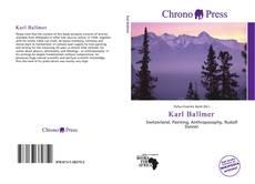 Bookcover of Karl Ballmer