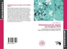 Capa do livro de Championnat du Japon de Football 1974