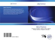 Bookcover of Adrar Province