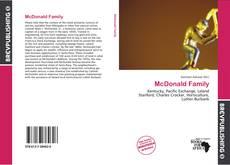 Copertina di McDonald Family