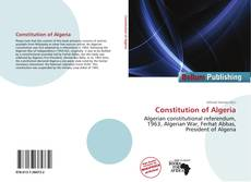 Constitution of Algeria的封面