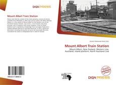 Обложка Mount Albert Train Station