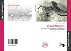 Bookcover of Duncan Meadows