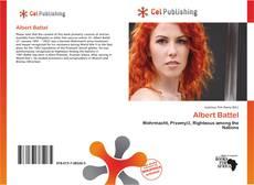 Bookcover of Albert Battel