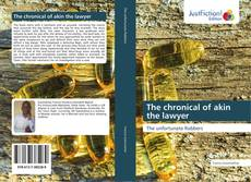 Capa do livro de The chronical of akin the lawyer