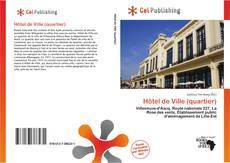 Обложка Hôtel de Ville (quartier)