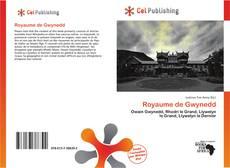 Royaume de Gwynedd kitap kapağı