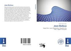 Jean Boiteux kitap kapağı