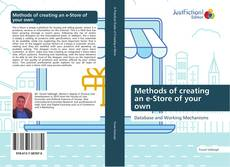 Bookcover of Methods of creating an e-Store of your own