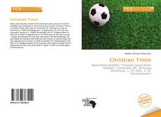 Bookcover of Christian Timm