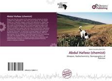 Bookcover of Abdul Hafeez (chemist)