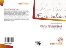 Portada del libro de Interval Temporal Logic